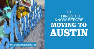 21 things to know before moving to Austin